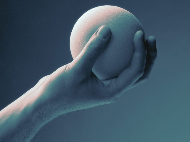 Hand-Holding, Stress Ball Don't Cut Anxiety in Skin CA Removal