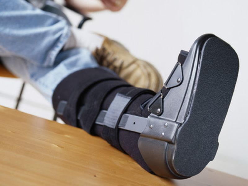 For Young Adults, Fractures Mainly Due to Severe Trauma