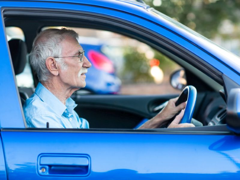 Eye Tests Tied to Less Dementia in Older Drivers Who Crash