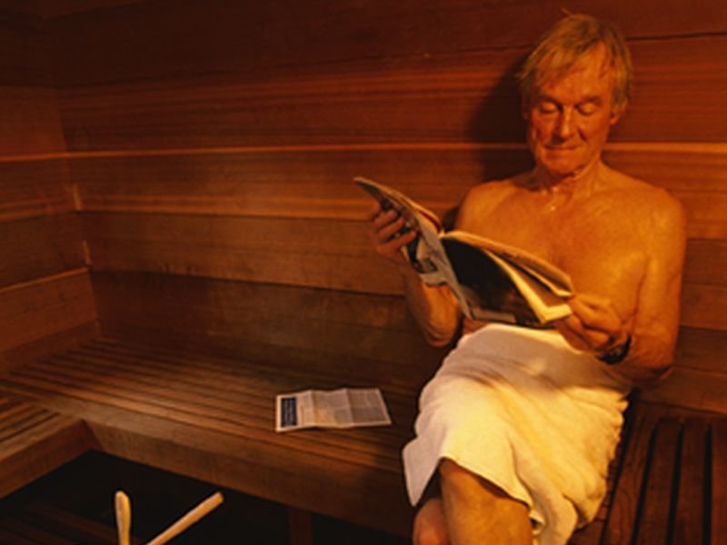 Sauna Exposure Improves Cardiovascular Function