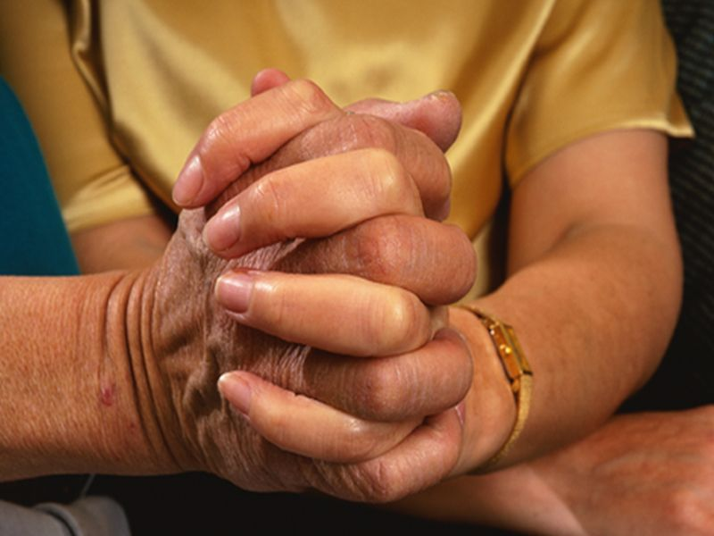 More Men Than Women With Parkinson's Have Caregivers